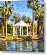 Saturday In The Park Metal Print