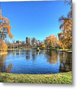 Saturday In The Park Metal Print by JC Findley