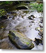 Satus Creek In Autumn Metal Print