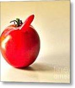 Saucy Tomato Metal Print