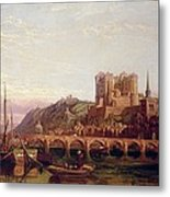 Saumur -  By The Loire Valley  Metal Print