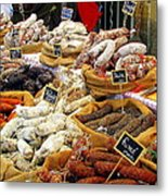 Sausages For Sale Metal Print