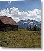 Sawtooth Cabin  Metal Print
