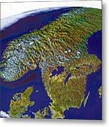 Scandinavia Metal Print