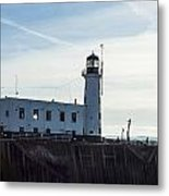 Scarborough Lighthouse Metal Print