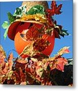Scarecrow Boa Metal Print