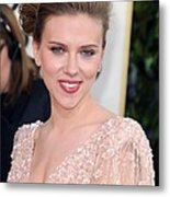 Scarlett Johansson At Arrivals For The Metal Print