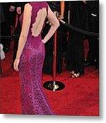 Scarlett Johansson Wearing Dolce & Metal Print