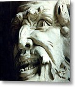 Scary Face Metal Print