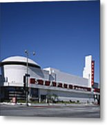 Scenes Of Los Angeles, The Merle Norman Metal Print