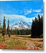 Scenic Mt. Hood In Oregon Metal Print