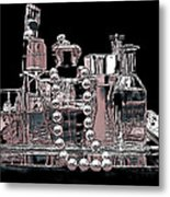 Scents Of A Woman Abstract Metal Print
