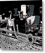 Scents Of A Woman II Abstract Metal Print