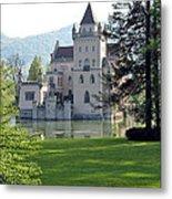Schloss Anif Metal Print