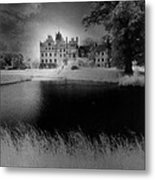 Schloss Basedow Metal Print