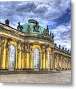 Schloss Sanssouci     Berlin Metal Print