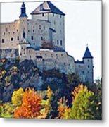 Schloss Tarasp Switzerland Metal Print