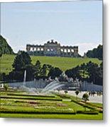 Schonbrunn Palace Gardens  Metal Print