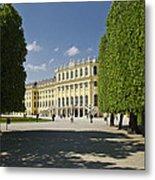 Schonbrunn Palace Vienna Austria Metal Print