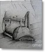 Still Life Study Drawing Practice Metal Print