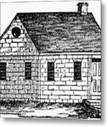 Schoolhouse, 18th Century Metal Print