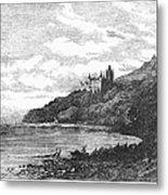 Scotland: Dunrobin Castle Metal Print