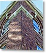 Scott County Courthouse Corner Detail Metal Print