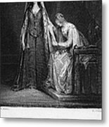 Scott: Ivanhoe, 1832 Metal Print