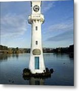 Scott Memorial Roath Park Cardiff Metal Print