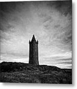 Scrabo Tower Newtownards County Down Northern Ireland Metal Print