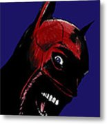 Screaming Superhero Metal Print by Giuseppe Cristiano