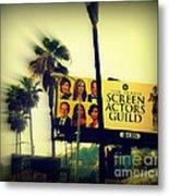 Screen Actors Guild In La Metal Print