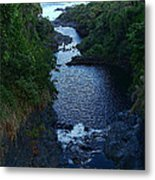 Scripture And Picture Psalm 24 2 Metal Print