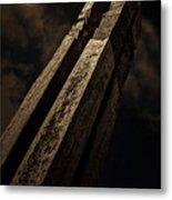 Sculpture By Moonlight Metal Print