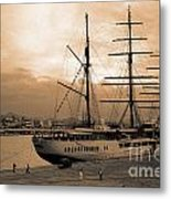 Sea Cloud II Metal Print