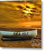 Sea Isle Dawn Metal Print