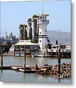 Sea Lions At Pier 39 San Francisco California . 7d14294 Metal Print