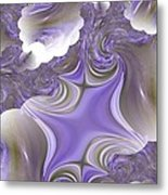 Sea Of Lavender Metal Print