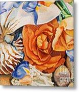 Sea Petals Metal Print