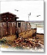 Sea Shanty Metal Print