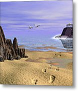 Sea Shrine Metal Print