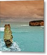 Sea Stacks Metal Print