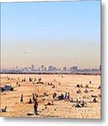 Seal Beach In January Metal Print