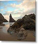 Seal Rock Oregon Metal Print