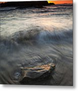 Seal Rock Sunset Metal Print