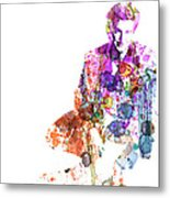 Sean Penn Metal Print by Naxart Studio