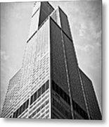 Sears-willis Tower Chicago Metal Print by Paul Velgos