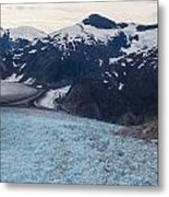 Seas Of Ice Metal Print by Mike Reid