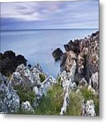 Seascape From Coast Of Clogherhead Metal Print
