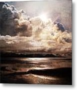 Seaside Cloudscape Metal Print
